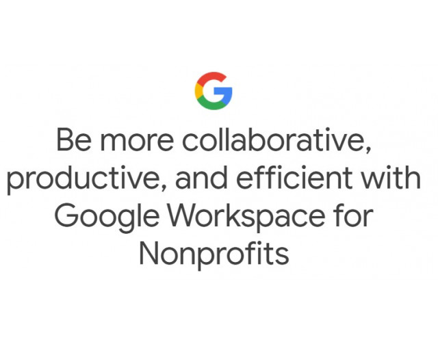 Google Workspace for Nonprofits